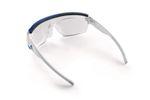 Für Brillenträger bietet Adidas Korrekturgläser zum einklipsen an. Foto: adidas Sport eyewear