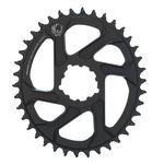 Seit neuestem ist auch SRAM mit ovalen Kettenblättern an den Markt gegangen. Vorerst sind sie nur für Mountainbikes erhältlich.