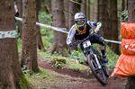Christian Textor kam beim iXS German Downhill Cup 2016 in Ilmenau in der Eliteklasse auf Platz 2