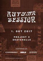 Attacke auf das Grindlabor! Die wethepeople Autumn Session 2017 findet am 1. Oktober in der Projekt X Skatehalle Trier statt. Hier erfährst du mehr.