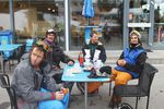 Die Crew von links nach rechts: Peter Sandner, Matt McHattie, Steve Gruber und Miro Salzmann. Foto: Franz Langer