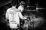 Bruni smashed it on return by matching his number in TT