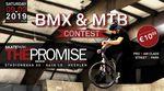 Am 9. Februar 2019 findet im The Promise Skatepark, gleich hinter der deutsch-niederländischen Grenze, ein BMX- und MTB-Contest statt.
